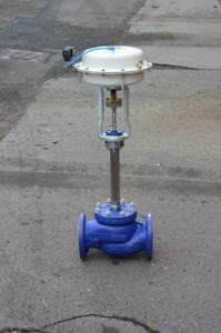 Ventil regulační s pneupohonem
